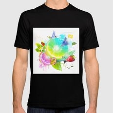 Acid Lima SMALL Black Mens Fitted Tee