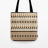 Giraffe Safari Tote Bag