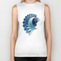 Space Abstract  Biker Tank
