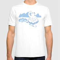 ice ballet White Mens Fitted Tee SMALL