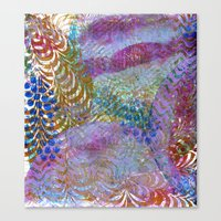 Feathered Ripples Canvas Print