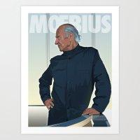 Moebius - Portrait Art Print