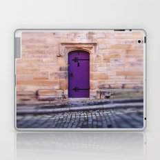 Purple Door Laptop & iPad Skin