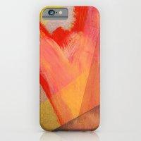 Orange flow iPhone 6 Slim Case