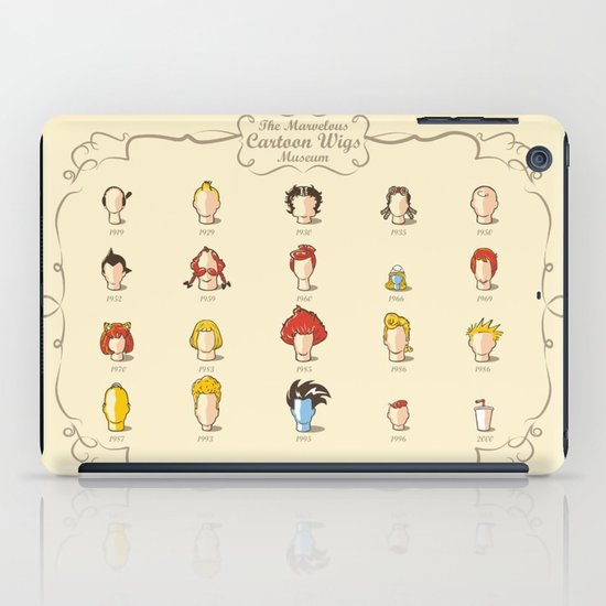 The Marvelous Cartoon Wigs Museum iPad Case