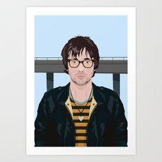 Graham Coxon Under the Westway Art Print