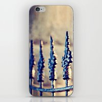 Fence Love iPhone & iPod Skin