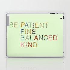 Skinny Love Quote Laptop & iPad Skin