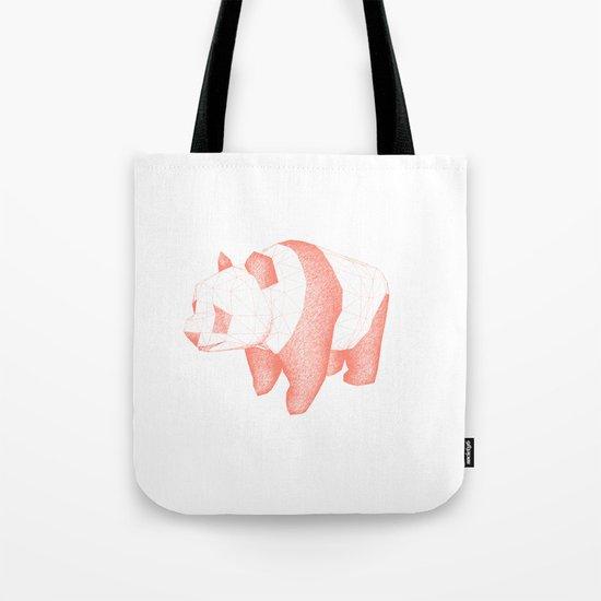 Geo Panda Tote Bag