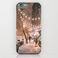 Snow - New York City - East Village iPhone 6 Slim Case