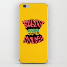 The Grease That Moves The Industry iPhone & iPod Skin