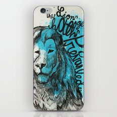Lion Of Judah iPhone & iPod Skin