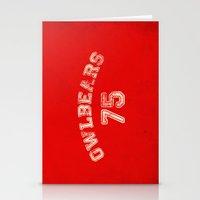 Go Owlbears! Stationery Cards