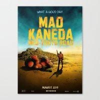 Mad Kaneda Neo-Tokyo Roa… Canvas Print