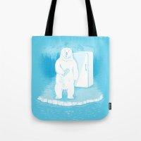 Save the polar bears, make more ice cubes. Tote Bag