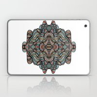 Abstract Waves of Thoughts Laptop & iPad Skin