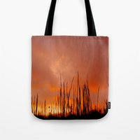 The Storm Is Over Tote Bag
