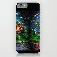 iPhone & iPod Case featuring Nintendo Vs Sega by LightningArts