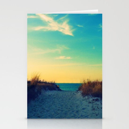 Walk in Love Stationery Card
