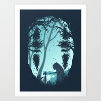 Lonely Spirit Art Print