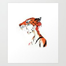 The Masquerade:  The Bengal Art Print