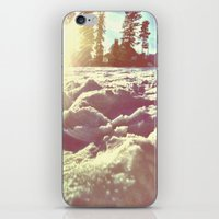 Ski Lodge Days iPhone & iPod Skin