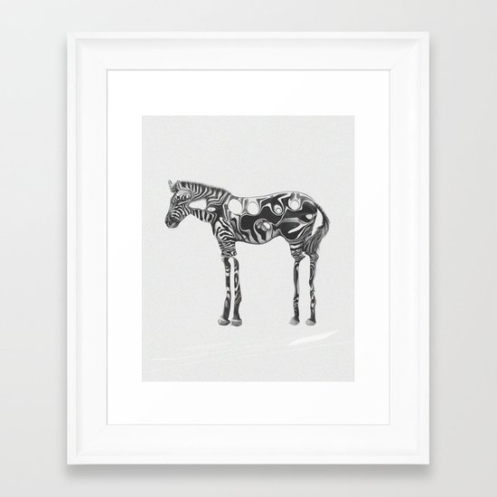 Alcool Framed Art Print