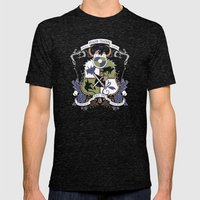 Dragon Training Crest - … Mens Fitted Tee Tri-Black SMALL
