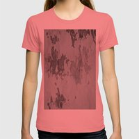 My Ink Op 5 Womens Fitted Tee Pomegranate SMALL