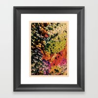 AQUART / PATTERN SERIES … Framed Art Print
