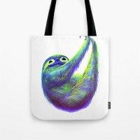Sloth Hammock Tote Bag