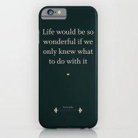 iPhone & iPod Case featuring Greta Garbo by NeilRobertLeonard