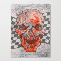 Death Valley Racers Moto… Canvas Print