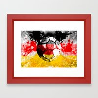 football germany Framed Art Print