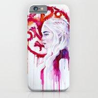 iPhone & iPod Case featuring Daenerys Targaryen - game of thrones 4 by Slaveika Aladjova
