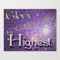 Christmas Glory Canvas Print