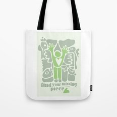 Find your missing piece Tote Bag