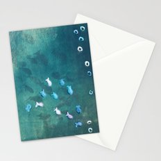 Life is one big sea of goldfish and cheerios Stationery Cards