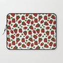 Strawberry Pattern Laptop Sleeve