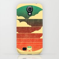 Galaxy S4 Cases featuring Go West by Budi Kwan