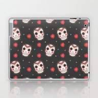 The Sugar Skull Pattern Laptop & iPad Skin