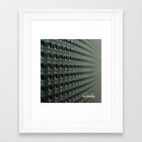 Towards Infinity Framed Art Print