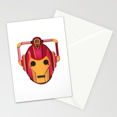 cyber iron man Stationery Cards