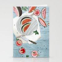 The Watermelon Season Stationery Cards