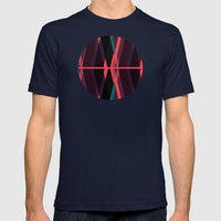 Deviations Mens Fitted Tee Navy SMALL