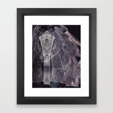 heavy weather  Framed Art Print