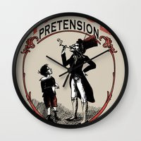 Ye Oldé Vintage Pretens… Wall Clock