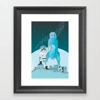 Space Pirate! Framed Art Print