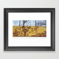 The Quiet Man Framed Art Print