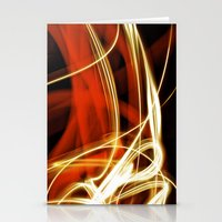 Merging Light III Stationery Cards